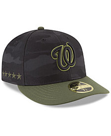 New Era Washington Nationals Memorial Day Low Profile 59FIFTY FITTED Cap
