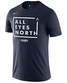 Nike Men's Minnesota Timberwolves Playoff Mantra Legend T-Shirt