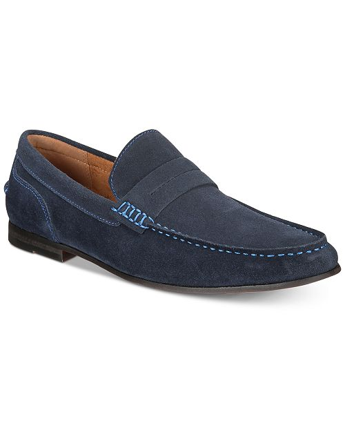 227a7110805 Kenneth Cole Reaction Men s Crespo Suede Penny Loafers   Reviews ...