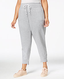 Calvin Klein Performance Plus Size Step-Hem Joggers