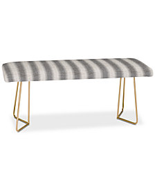 Deny Designs Holli Zollinger Seaside Stripe Bench
