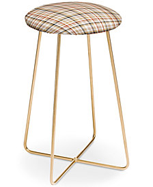 Deny Designs Lisa Argyropoulos Neutral Weave Counter Stool