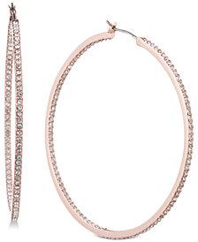 Givenchy Pavé Hoop Earrings
