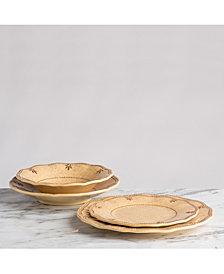 Q Squared Rustica Yellow Melamine Dinnerware Collection