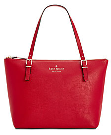kate spade new york Watson Lane Small Maya Leather Tote