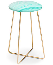 Deny Designs Monika Strigel Within the Tides Caribbean Sea Counter Stool
