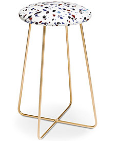 Deny Designs Emanuela Carratoni Autumnal Terrazzo Counter Stool