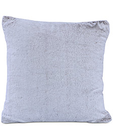 "Berkshire Grace Faux-Fur 18"" Square Decorative Pillow"