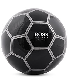 Receive a Complimentary Soccer Ball with a large spray purchase from the Hugo Boss Men's fragrance collection