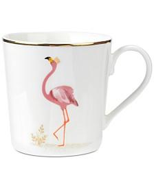 Portmeirion Sara Miller Flamboyant Flamingo 12-oz. Mug