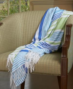 Berkshire Tropical Stripe 50 x 70 Throw