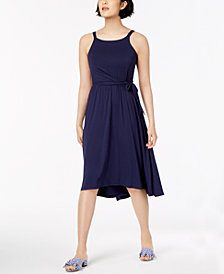 Maison Jules High-Low Fit & Flare Dress, Created for Macy's