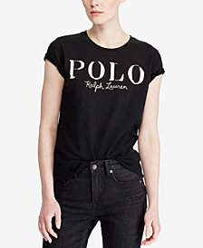Polo Ralph Lauren Logo-Graphic Cotton T-Shirt