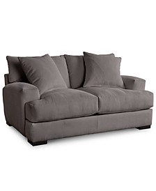 "Rhyder 68"" Fabric Loveseat, Created for Macy's"