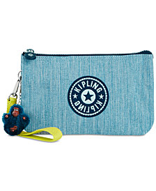 Kipling Creativity X-Large Denim Cosmetic Pouch