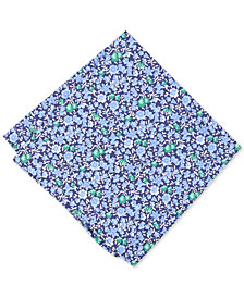 Bar III Men's Horan Floral Silk Pocket Square, Created for Macy's