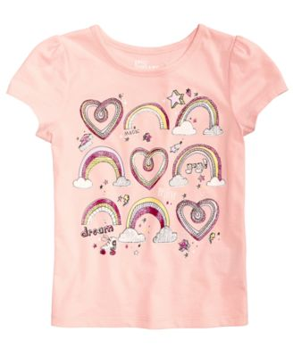 Toddler Girls Graphic-Print T-Shirt, Created for Macy's