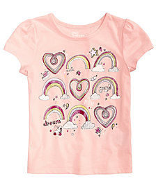 Epic Threads Toddler Girls Graphic-Print T-Shirt, Created for Macy's