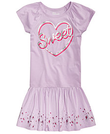 Epic Threads Toddler Girls Sweet Heart T-Shirt & Border-Print Skirt, Created for Macy's