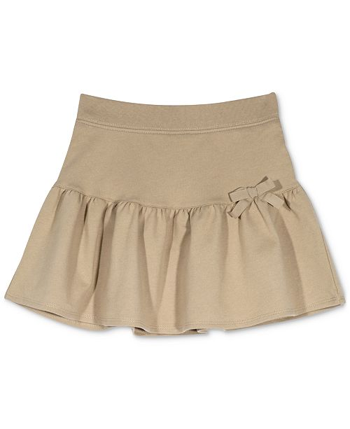 Nautica Little Girls Drop Waist French Terry Scooter Skirt