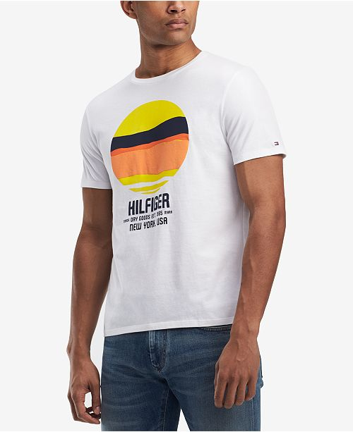 089692b22f ... Tommy Hilfiger Men s Graphic-Print T-Shirt
