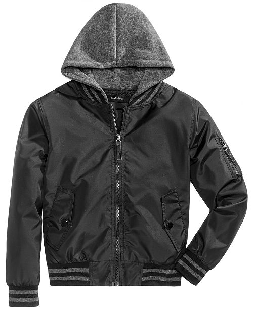 1b2c5c147 Ring of Fire Big Boys Cardwell Hooded Bomber Jacket   Reviews ...