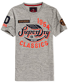 Superdry Men's Famous Flyers Logo-Print T-Shirt