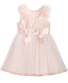 Bonnie Baby Baby Girls Blush Ballerina Dress