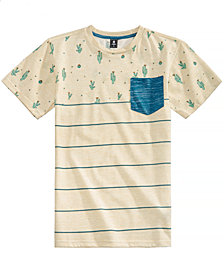Ocean Current Big Boys Cactus Striped T-Shirt