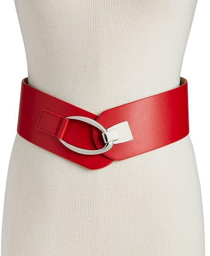 INC International Concepts - Interlocking-Hook Stretch Belt