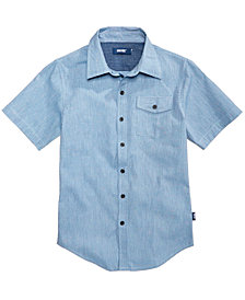 Univibe Big Boys Mollusks Cotton Shirt