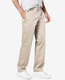 Dockers Straight Signature Lux Cotton Khaki Stretch Pants