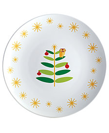 Rachael Ray Holiday Hoot Round Platter