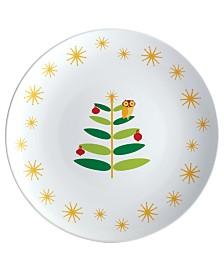 Holiday Hoot Round Platter