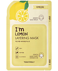 TONYMOLY I'm Lemon Layering Mask