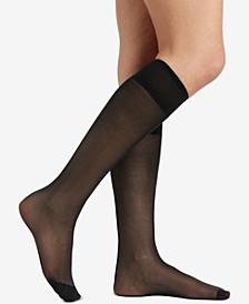 Women's  All Day Sheer Knee Highs 6355