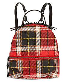 Steve Madden Val Plaid Backpack