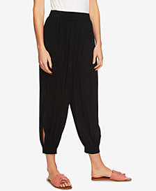 1.STATE Smocked Split-Leg Harem Pants