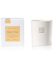 Aromatique Grapefruit Fandango White Ceramic Boxed 9-oz. Candle