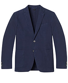 BOSS Men's Slim-Fit Garment-Dyed Stretch Sport Coat