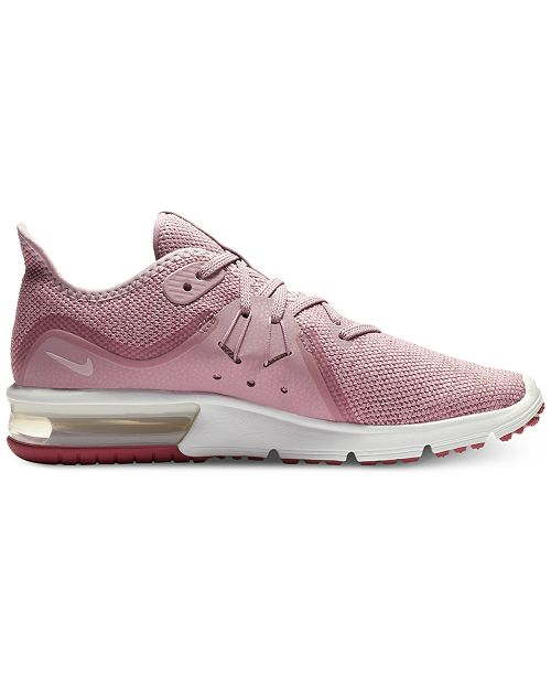 promo code dcb74 58687 ... Nike Women s Air Max Sequent 3 Running Sneakers from Finish ...
