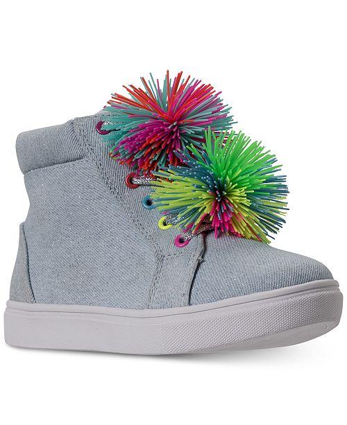 94cfb2632f0 ... Steve Madden Little Girls  JBRENDIE High Top Sneakers from Finish ...