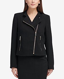 DKNY Moto Jacket, Created for Macy's