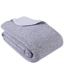 "Berkshire Reversible Cozy Knit 90"" x 90"" Blanket"