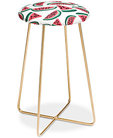 Deny Designs Zoe Wodarz Watermelon Wander Counter Stool
