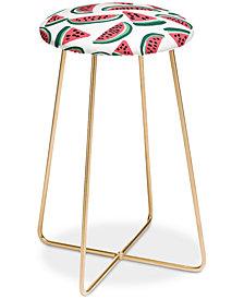 Deny Designs Zoe Wodarz Watermelon Wander Counter Stool