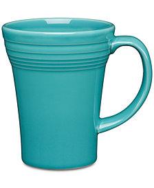 Fiesta Turquoise Bistro Latte Mug