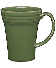 Fiesta Sage Bistro Latte Mug