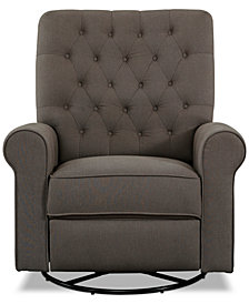 Westonia Swivel Glider Recliner, Quick Ship
