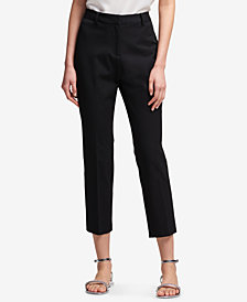 DKNY Slim-Fit Ankle Pants, Created for Macy's